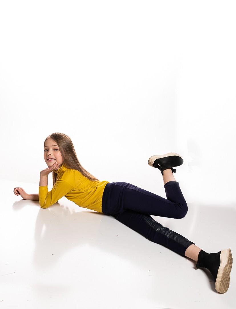 Girls Ponte Leggings